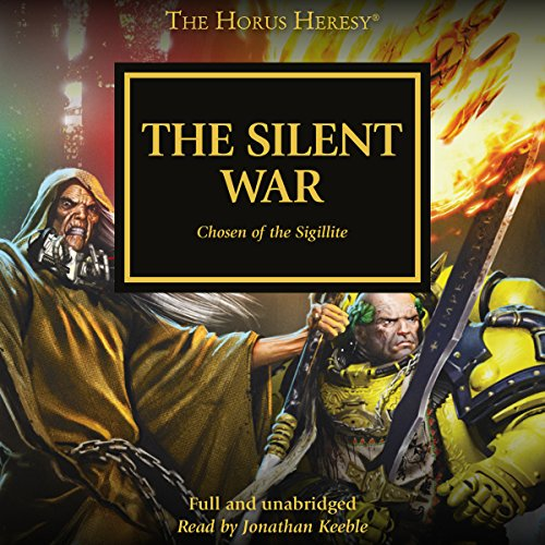 The Silent War audiobook cover art