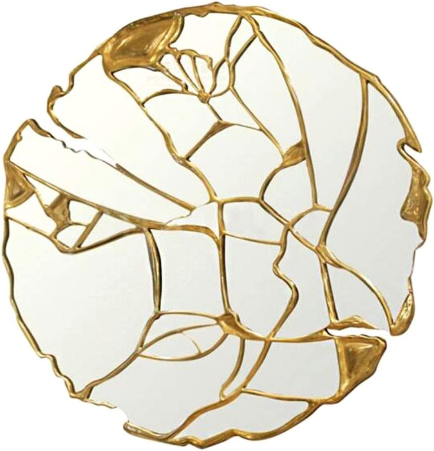 XWZH Mirrors for Wall Cheap mail In stock order specialty store Living European Room Rou Style