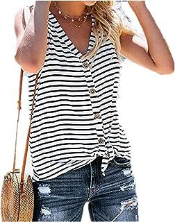 9e3ecaae2cfec Amazon.fr : Mariniere Femme - T-shirts, tops et chemisiers / Femme ...