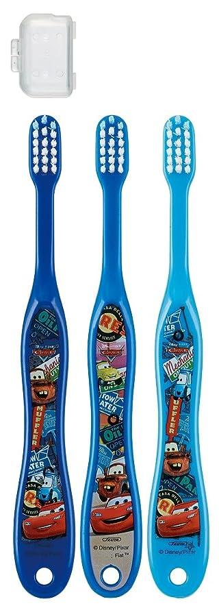 詳細に蒸留揮発性スケーター 歯ブラシ 園児用 3-5才 毛の硬さ普通 3本組 カーズ 15 TB5T