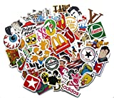Stickerbomb Mega Mix aus 100 Retro- und Sponsoren-