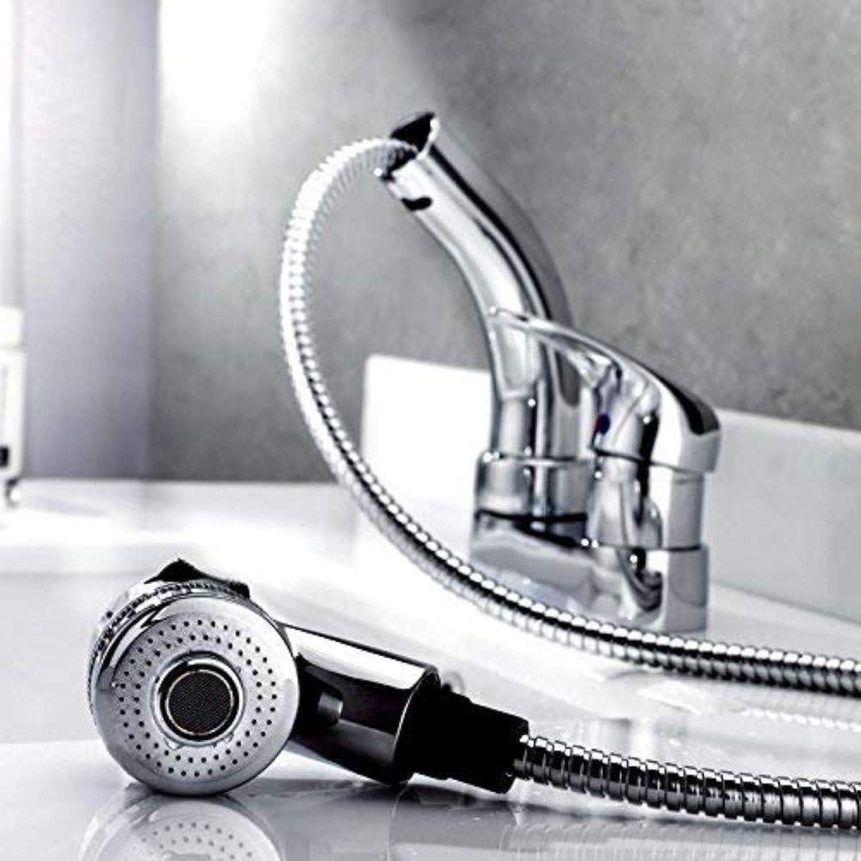 360° redating Faucet Retro Faucetfull Copper Faucet Basin Faucet Pull Basin Faucet Drainage Basin Faucet