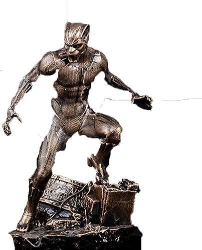 WYZBD Jouet Modèle Vengeurs 3 Panthère GK Main 1 6 Modèle Décoration Film Personnage Statue,Brass