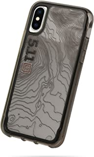 Griffin, iPhone X Clear Case, Survvior Clear: 5.11 Tactical Edition, Impact Resistant Clear Protective Case, Black