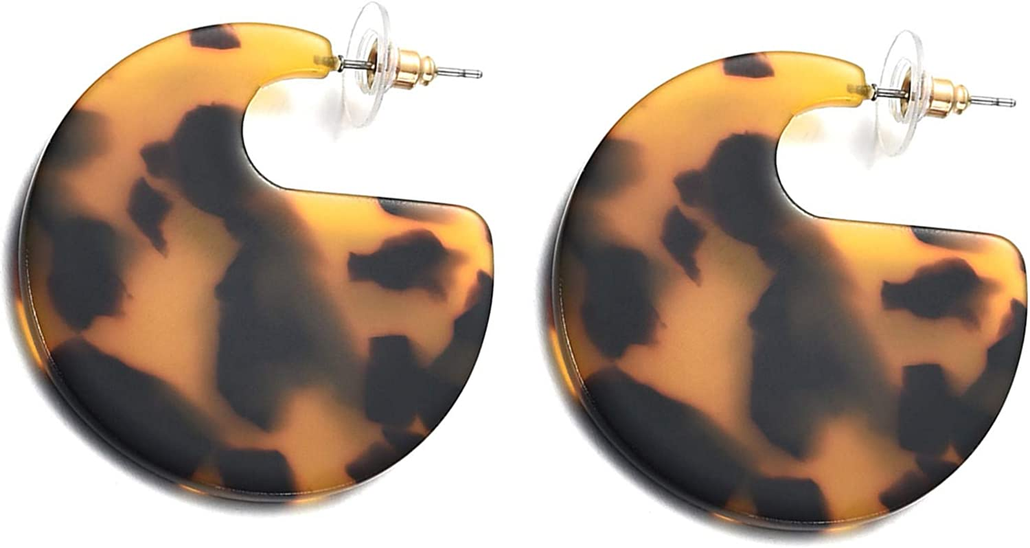 10pcs Tortoise shell acetate acrylic yellow black leopard gourd shaped charm pendant jewelry earrings findings supplies 34*29mm 1072A