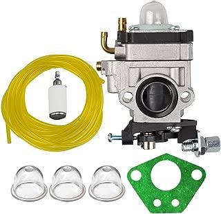 Savior Carburetor with Gasket Primer Blub Fuel Line Fuel Filter for 2 Cycle 43cc Powermate PCV43 Tiller