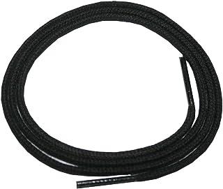 0108 Schuhband Schnürsenkel 1 Paar Baumwolle 50cm flach schwarz
