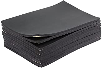 Yaheetech Sound Proofing Deadening Vehicle Insulation Closed Cell Foam Sheet with Adhesive Backing 50cm X 30cm,12 Sheets