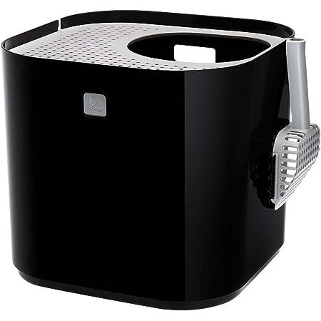 デザイン賞受賞 猫のトイレ 「ModKat モドキャット」 ブラック EV4818