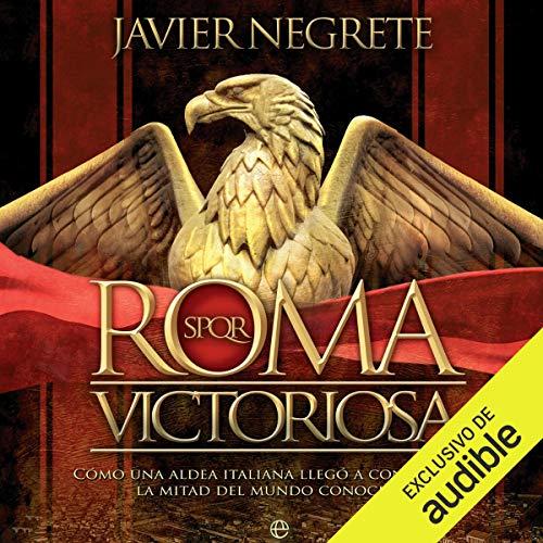 Diseño de la portada del título Roma victoriosa