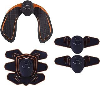 koolsoo Electric Muscle Trainer Stimulator Set Body Massage Tools ABS Abdominal Hip Belt