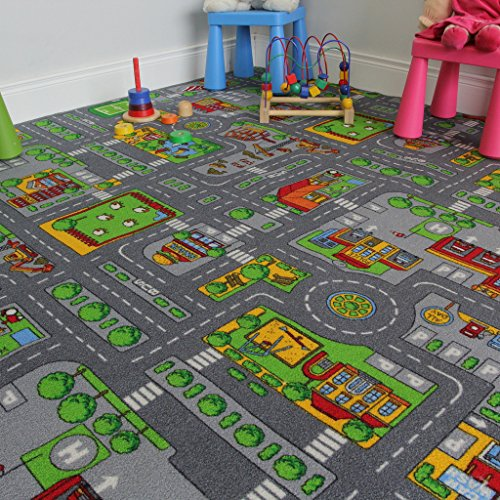 Grand Tapis de Jeu Enfant - Circuit de Route