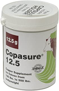 ANP Copasure Bolus for Cattle Long-Acting Copper Supplement Herds Growth 25gm