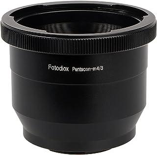 Fotodiox Lens Mount Adapter - Pentacon 6 (Kiev 60) SLR Lens to Micro Four Thirds (MFT, M4/3) Mount Mirrorless Camera Body