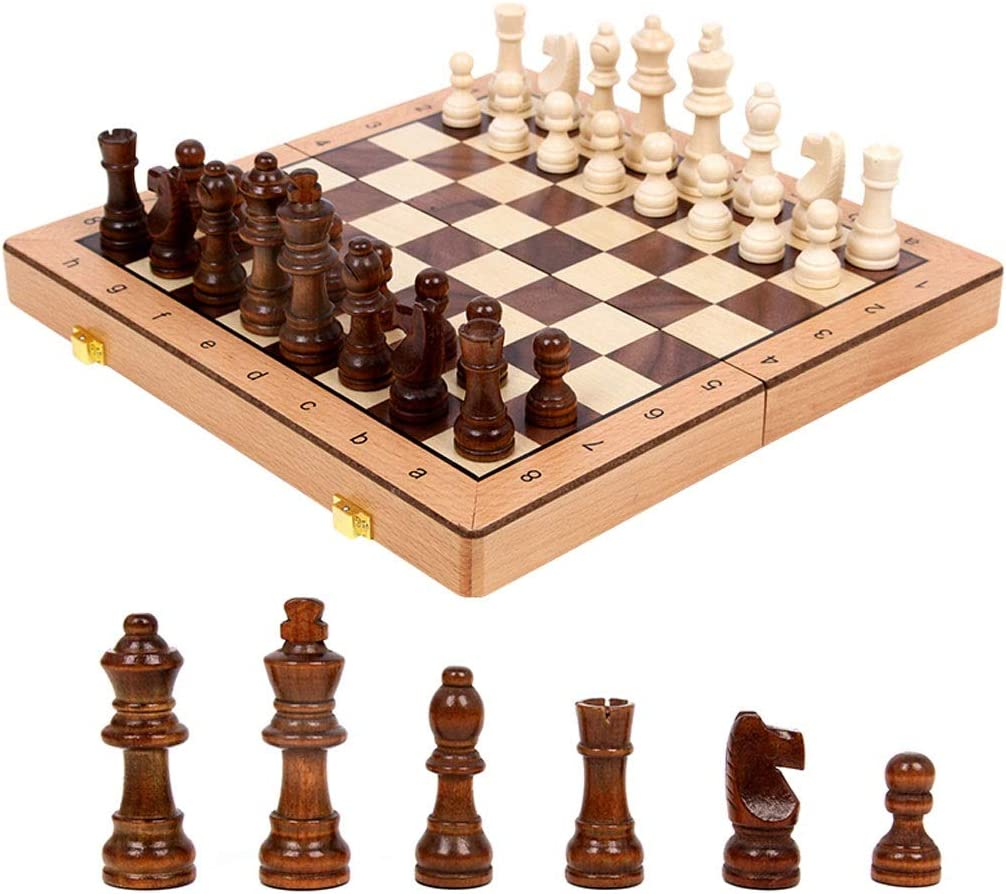 LUAN Chess Wood Magnetic Max 50% OFF Mail order Travel Set Board Games Ma