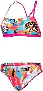 Speedo Womens Crossback Two Piece Bikini - Multicoloured