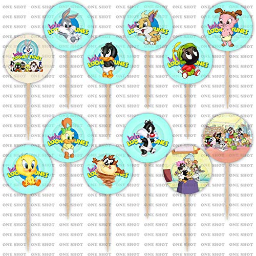 baby looney tunes baby shower - 1