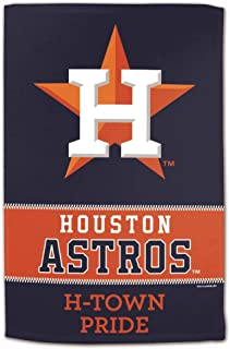 Master Industries Houston Astros Sublimated Cotton Towel- 16