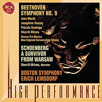 """Beethoven: Symphony No. 9 """"Choral"""" - Schoenberg: A Survivor from Warsaw"""
