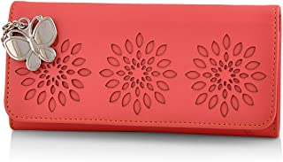 Butterflies Women's Wallet (Dark Peach) (BNS 2390DPCH)
