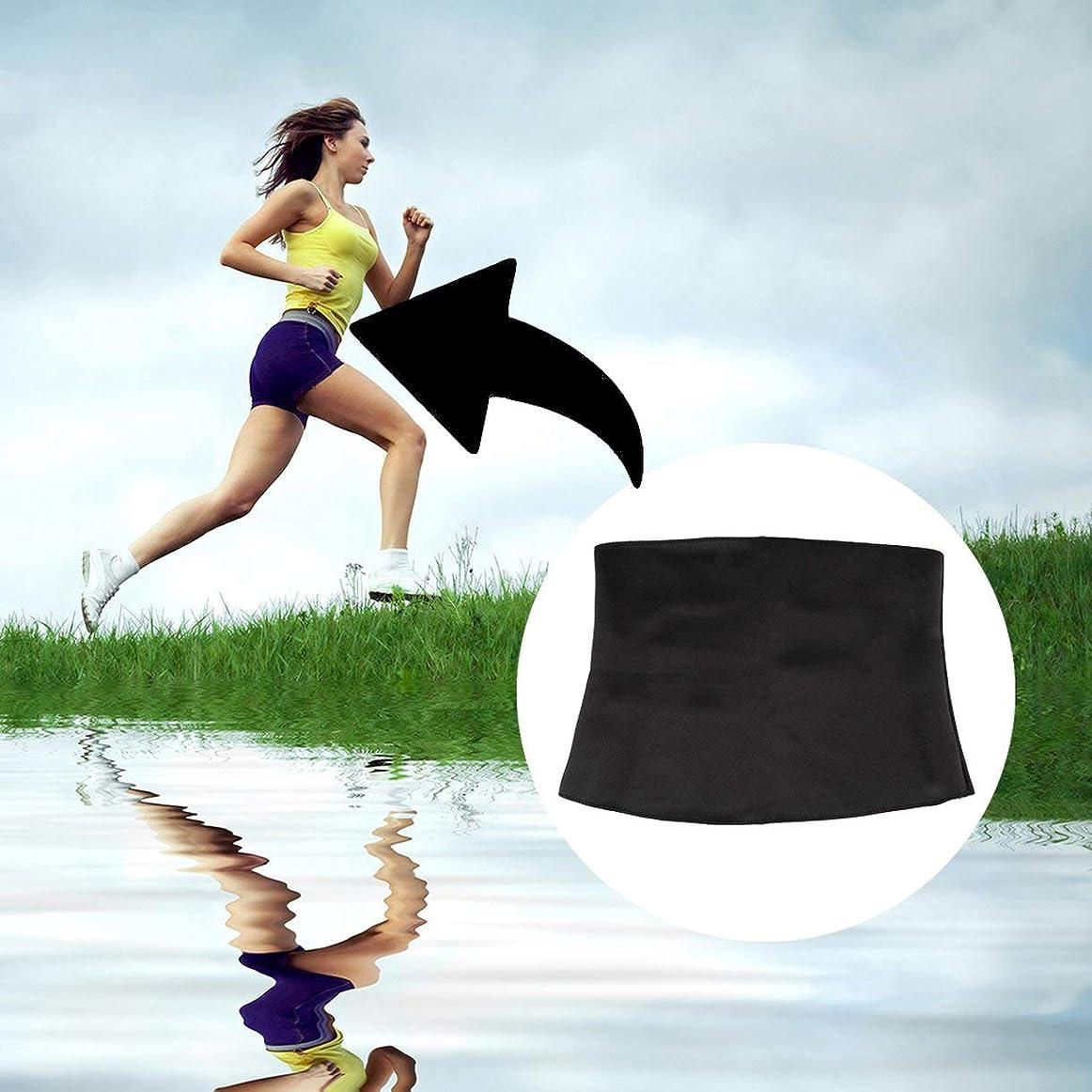 決定通行料金習熟度Women Adult Solid Neoprene Healthy Slimming Weight Loss Waist Belts Body Shaper Slimming Trainer Trimmer Corsets