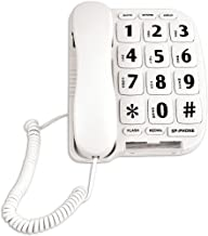 Sonnet Industries Easy Read Large Button Telephone for Desk Or Wall w/Hands Free Speakerphone
