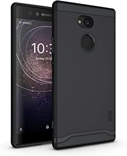 Sony Xperia XA2 Ultra Case, TUDIA Slim-Fit Heavy Duty [Merge] Extreme Protection/Rugged but Slim Dual Layer Case for Sony Xperia XA2 Ultra (Matte Black)