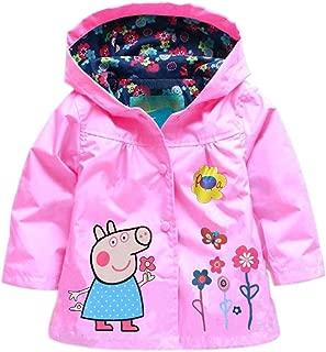 toddler peppa pig raincoat
