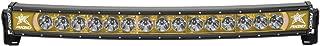RIGID IND 33004 Amber Back Curved Led Light Bar