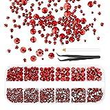 Kit de arte de uñas acrílicas con piedras brillantes...