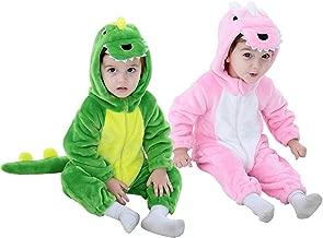 Dinosaur Costume Kids Hooded Onesie Animal Costume Halloween
