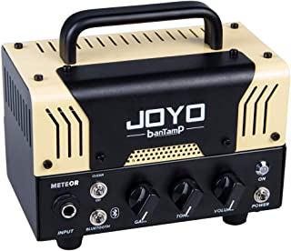 JOYO BantamP Series METEOR 20Watt Portable Mini Amp for Bass, Acoustic,Electronic Guitar with Bluetooth, Dual Channel Guitar Amplifier Head