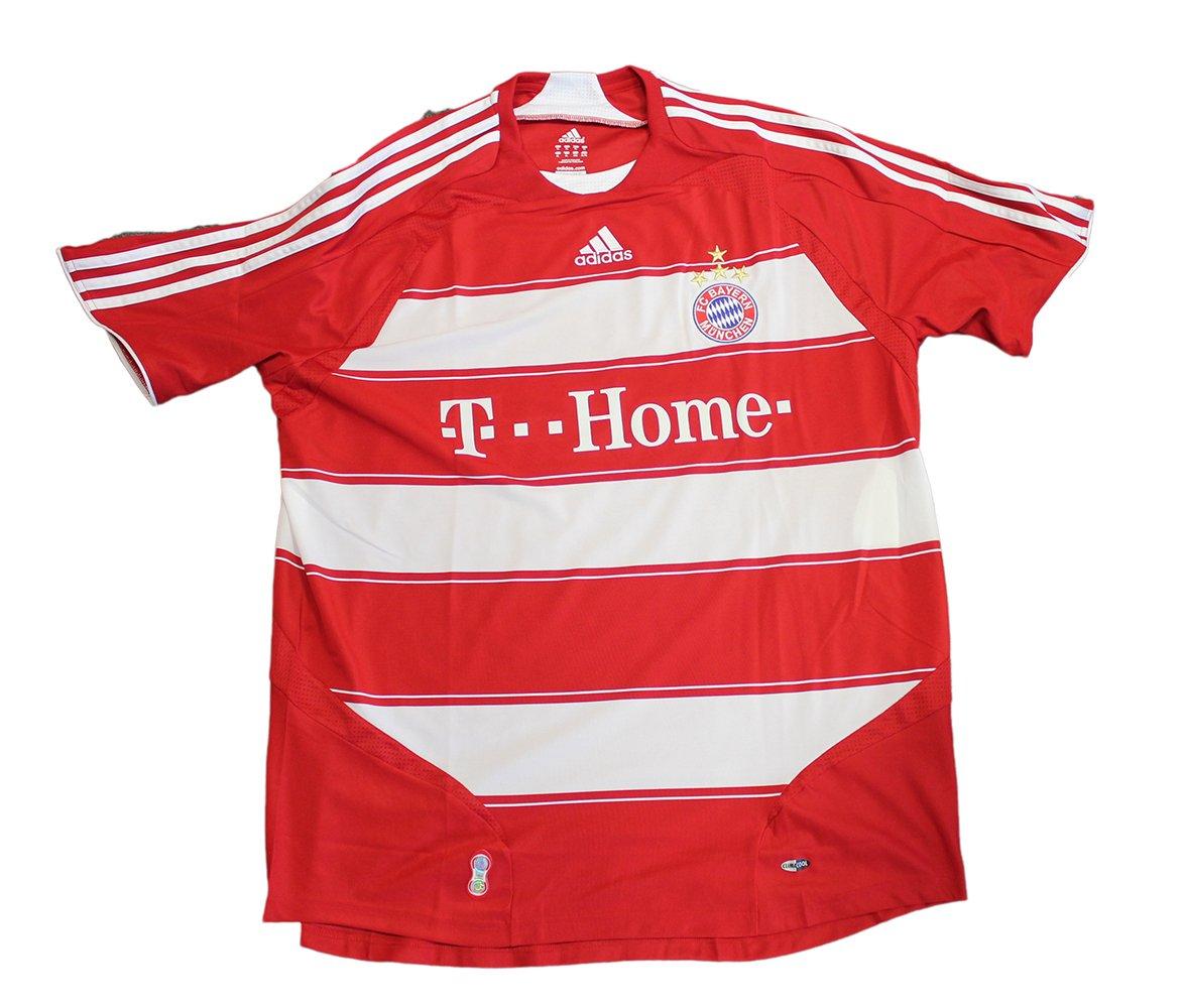 adidas FC Bayern München Home Camiseta, Hombre, Rojo, Medium: Amazon.es: Deportes y aire libre