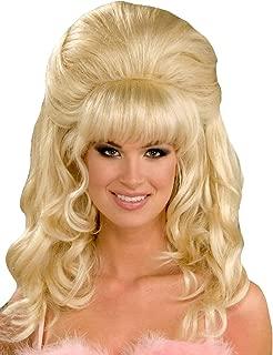 bouffant wig blonde
