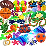 32 Pack Sensory Fidget Toys Set, Stress Reliever and Anti-Anxiety Toys for Kids Adult Children, Birthday Party Favors Gifts, Treasure Box Prizes School Classroom Rewards Pinata Goodie Bag Fillers