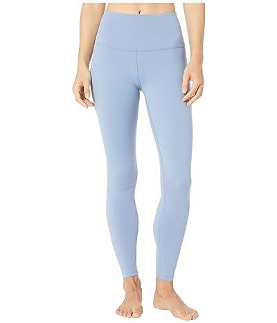 Beyond Yoga High Waisted Midi Leggings (Serene Blue) Women