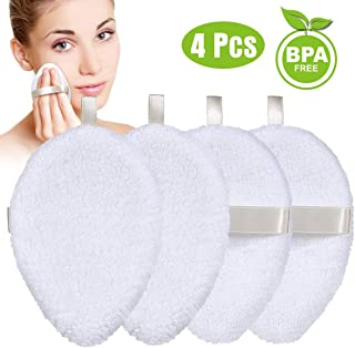 Reusable Cotton Pads Face Cleansing Wipes -Organic Cotton Rounds Remove Makeup with Water Only