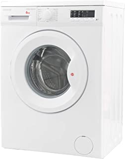 Hoover 6Kg 1000 RPM Front Load Washing Machine, White - HWM-1006-W