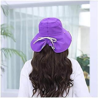 BMKWSG-MAOZi Protección Solar UV para elVerano para Mujersombrilla Facial Transpirable Playa Fresca al Aire Libre Deportes Sombrero Plegable para el Sol