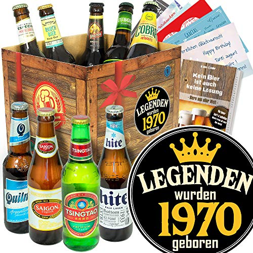 Legenden 1970 - Biere aus aller Welt - Geschenke 1970