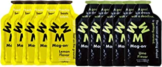 Mag-on マグオン エナジージェル ウメ(梅)5個 新味レモン5個 計10個セット