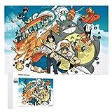 KINUNKN Miyazaki Hayao Series Fun Puzzles Educational Toy 1000 Piece Wooden Puzzles
