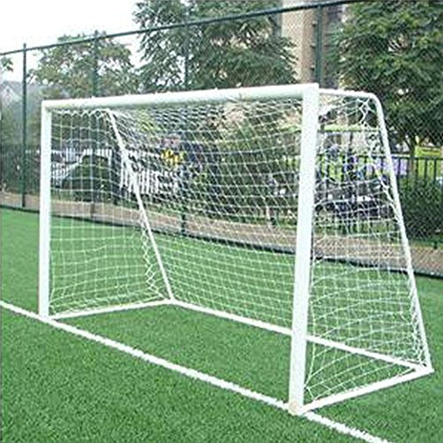 Niome 12 x 6ft Full Size Football Soccer Goal Post Net Sports Match Training Junior Home Team Sports Game NEW Post NOT included