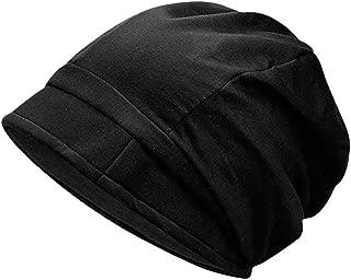 WILLBE Vintage Beret Cap Men's and Women's Cap Flat Top Comfortable Fisherman Hat Beret, Classic Solid Color Wool Beret