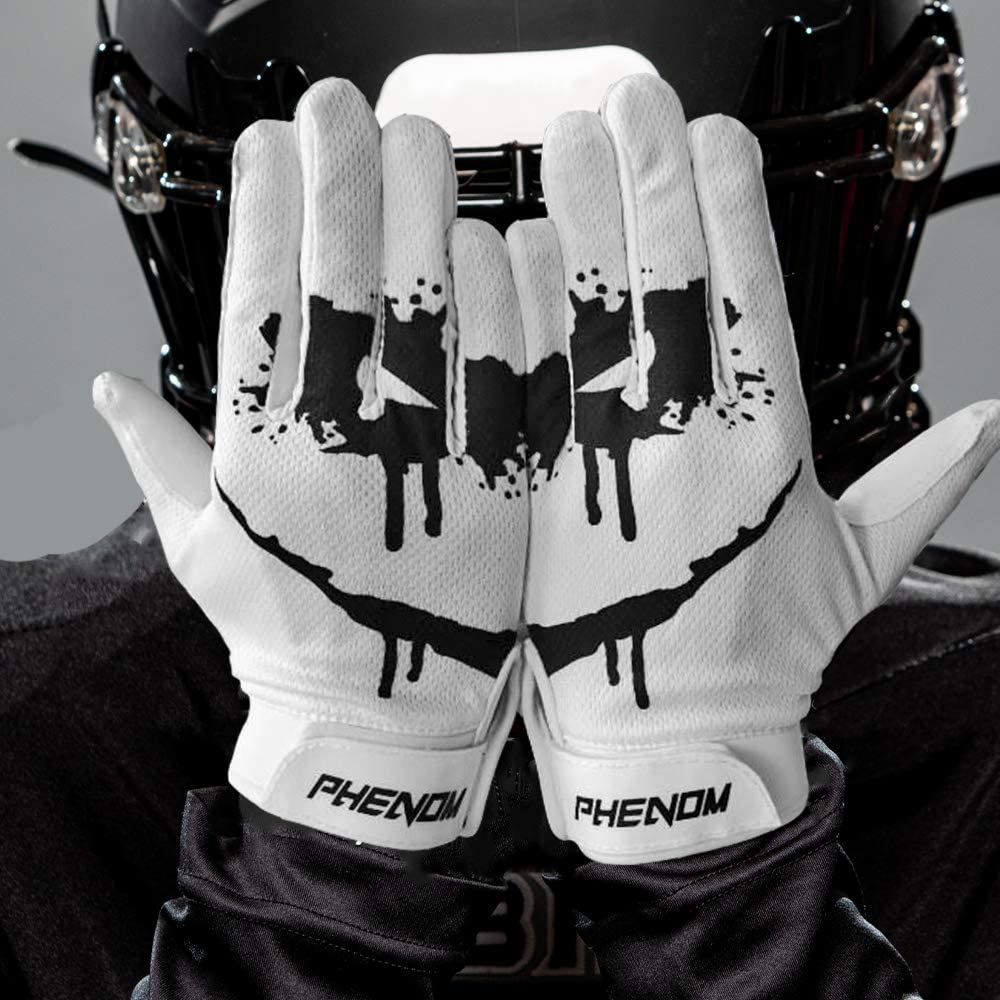 Phenom Elite Sinister Football Gloves - VPS1 : Sports & Outdoors