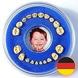 Firsty Milchzahndose - Blau, Jungen Round - Inklusive Logbüchlein auf Deutsch - ABF Schneller Versand