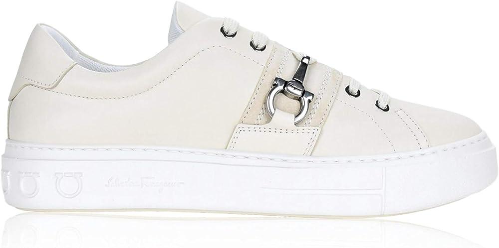 Salvatore ferragamo , scarpe per donna,sneakers,in vera pelle SALVATORE FERRAGAMO Sultan M