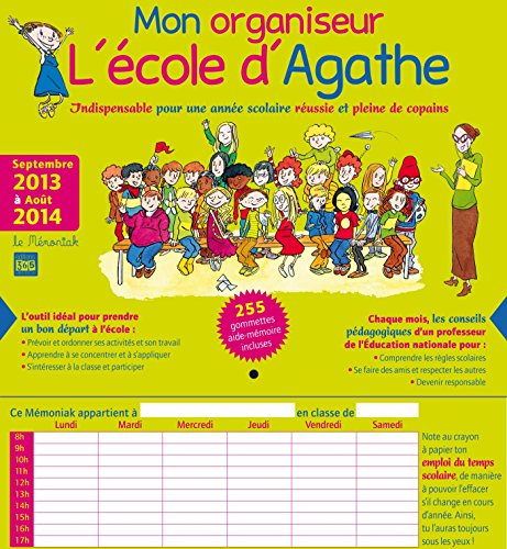 mon organiseur l'Ecole d'Agathe