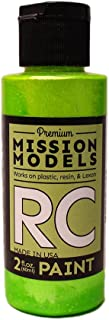 Mission Models Automobile Mmrc-028 Water-Based RC Paint 2 Oz Bottle Pearl Lime