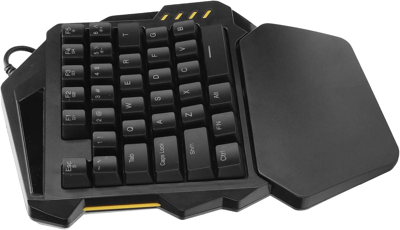 Save money Haowecib Computer Keyboard Mechanical USB RGB Ke Wired Topics on TV